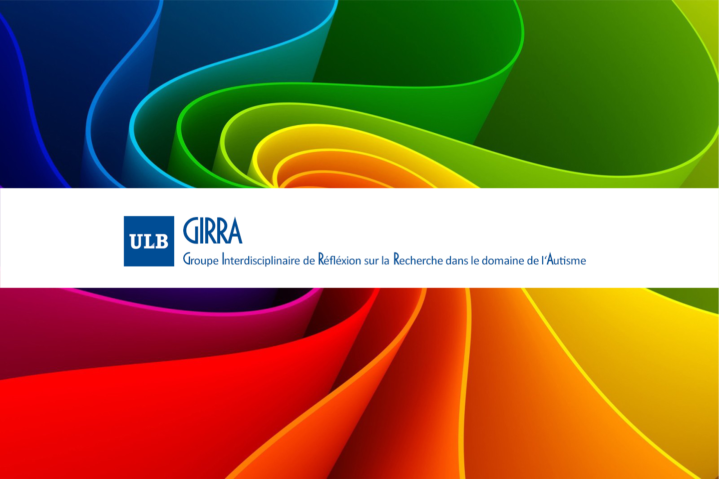 The Interdisciplinary working Group on Research in the field of Autism (GIRRA) has a new website!