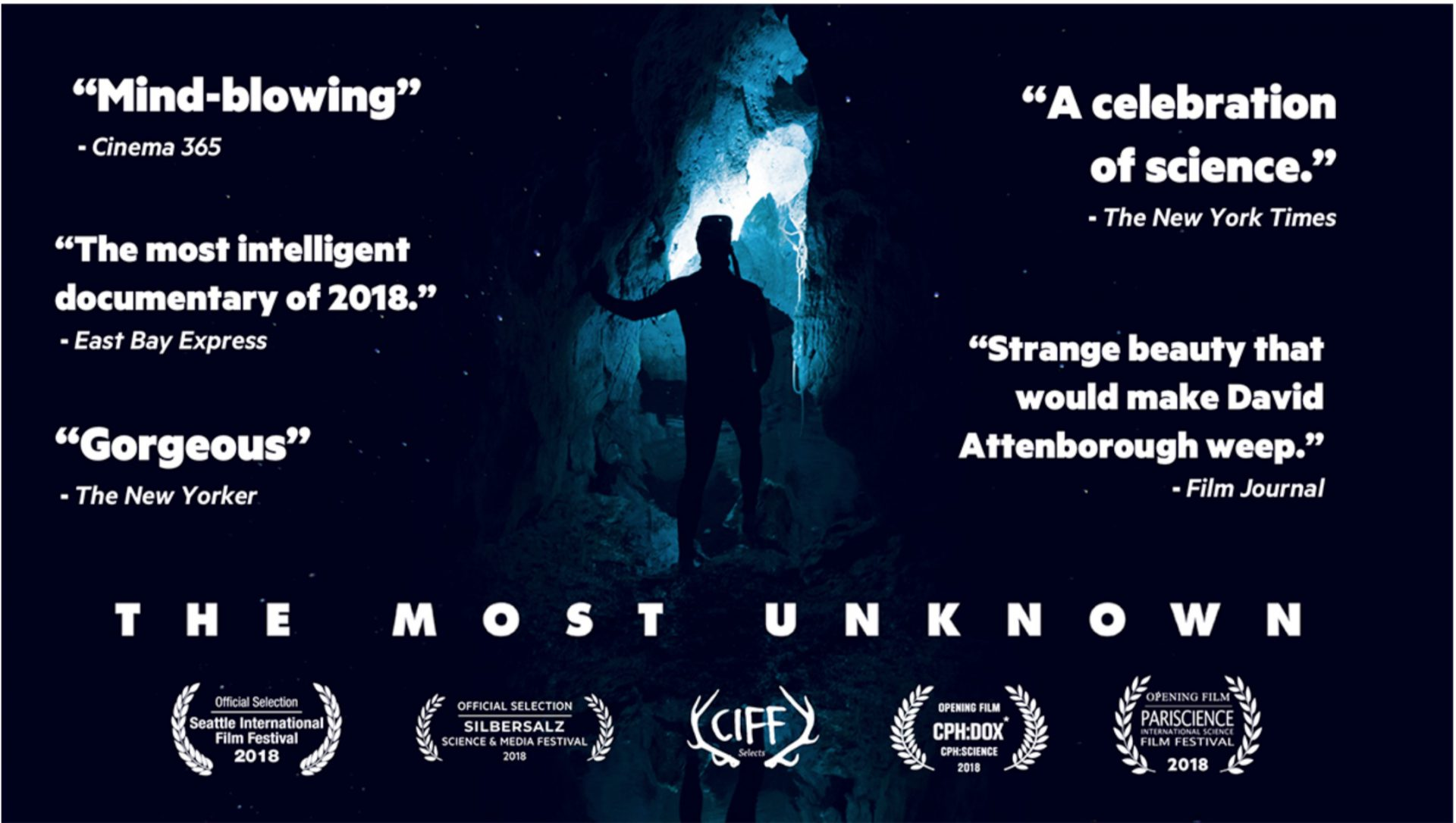 "Screening of ""The Most Unknown"", featuring Axel Cleeremans"